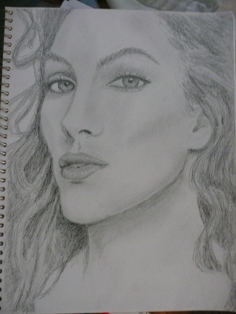 Pencil drawing redo